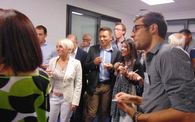 Inauguration Bureau des Naïades en Avignon le 29 Septembre 2015