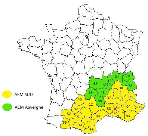 Zone intervention AEM